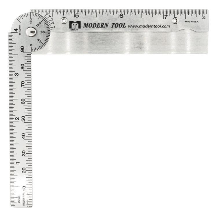 Executive Line - 1002A Custom Pocket Protractor - Half Open