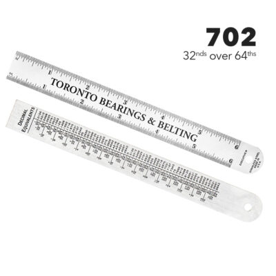 "702 6"" Ruler, 3/4"" wide by Executive Line"