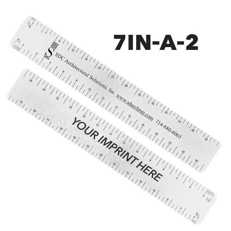 7IN-A-2 - Architectural Ruler by Executive Line