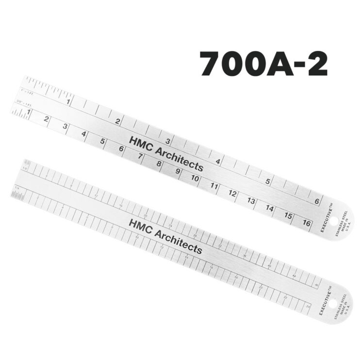 700A-2 - Architectural Ruler by Executive Line
