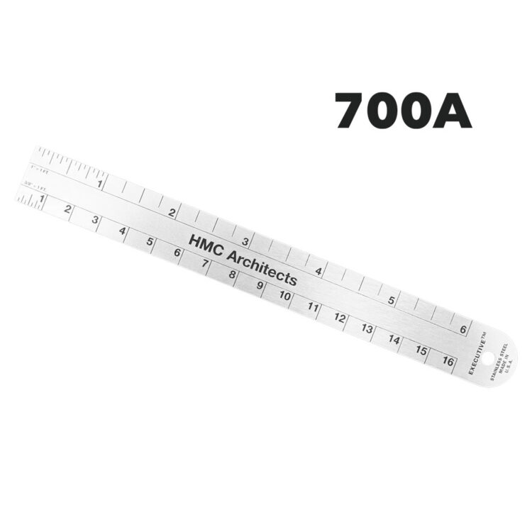 700A - Architectural Ruler by Executive Line