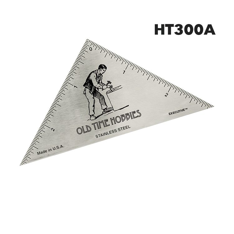 HT300A - Triangle Hobby Ruler from Executive Line