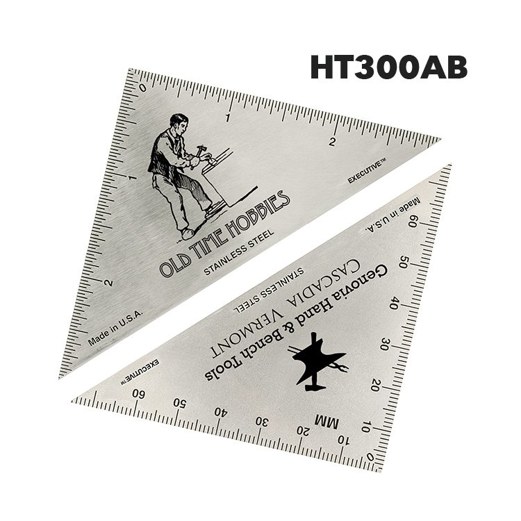 HT300AB - Triangle Hobby Ruler from Executive Line