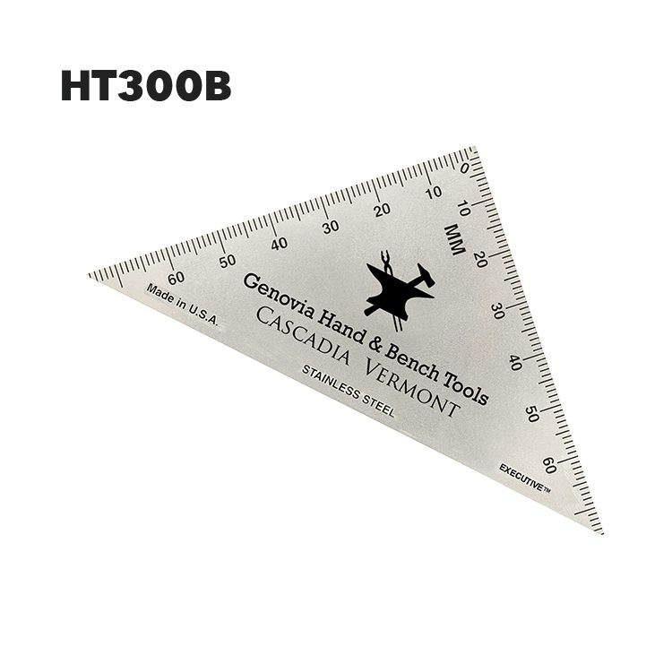 HT300B - Triangle Hobby Ruler from Executive Line